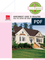 Homeowners Guide to Insulating