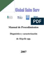 Manual Shigella 2007
