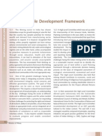 Ministry of Mines - Sustainability Development Framework
