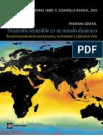 Banco Mundial 2003