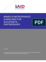 Banks in Microfinance-Guidelines