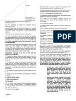 Succession Outline Notes&Cases