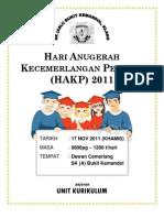 HARI ANUGERAH CEMERLANG 2011
