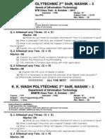 JPR Class Test 2 QP