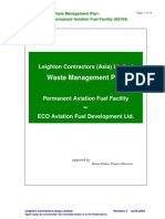 Waste Management Plan Example - Leighton