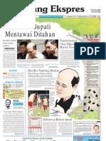 Koran Padang Ekspres   Kamis, 17 November 2011.
