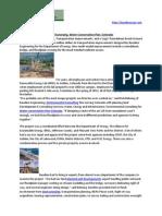Land Surveying, Water Conservation Plan Colorado