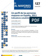 Un Perfil de las Personas Mayores en España