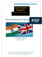 Indo UK Trade Analysis