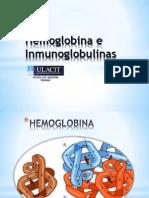 Hemoglobina e Inmunoglobulinas