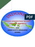 Sistem Administrasi Negara Republik Indonesia(2)