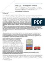 As Camadas Do Modelo OSI Analogia Dos Correios