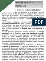 UNIDAD 6. GEOSFERA Y RIESGOS GEOLÓGICOS INTERNOS