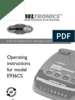 Bell 936 Manual