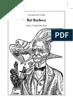Literatura de Cordel - Rui Barbosa