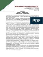 Guía 1 - Orellana R, Mario - Qué Es La Antropología Cap