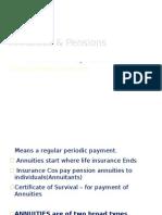 Annuities & Pensions