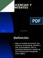 Licencias y Patentes