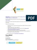 Article SCRIB Maison Energy