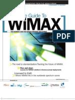 Telephony WiMAX