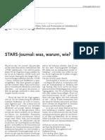STARS Journal 01 2007 [Ulrich Berding, Juliane Pegels, Bettina Perenthaler und Klaus Selle]