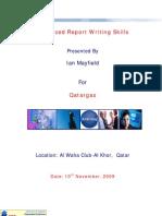 Advanced Report Writing Skills