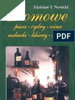 Domowe Piwa, Cydry, Wina, Nalewki, Likiery, Kremy