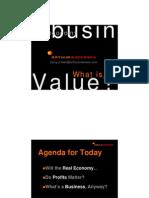 Value Dynamics