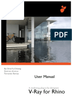 V Ray for Rhino Manual English
