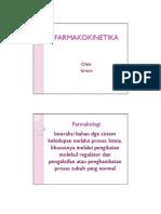 Farmakokinetika Materi Pengantar Farmakologi Keperawatan
