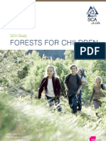 SCA sustainability study Forests for Children