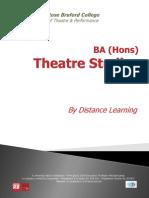 BA (Hons) Theatre Studies at Rose Bruford College Brochure