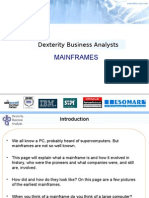 DBA Corpppt Mainframes Intro I