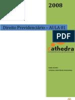 CATHEDRA_AULA_01_-_APOSTILA_-_DIREITO_PREVIDENCIÁRIO_