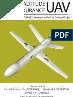 High Altitude Long Endurance Recon UAV