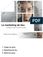 9. Le Marketing de Lieu. Le Brand Du Pays