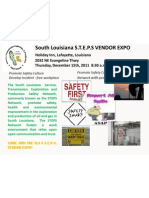 SLA Vendor Expo Flyer 2011