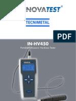 Durometro Portatil Vickers in-HV450e