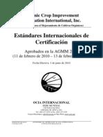 Organic Crop Improvement Association Internacional Inc.