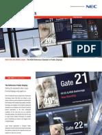 NEC Brochure P Series