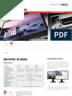 NEC Brochure PA Series