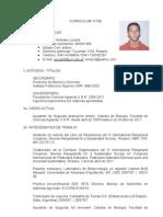 Curriculum Vitae Emiliano Jozami