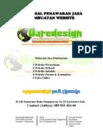 Proposal Penawaran Jasa Pembuatan Website