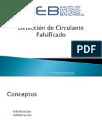 Detección de circulante falso Pesos Chilenos