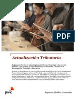 Reglamento Parcial de la Ley Orgánica de Ciencia, Tecnología e Innovación | Boletín de Actualización Tributaria | PwC Venezuela