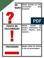 CARTAZ SINAIS DE PONTUAÇÃO 1