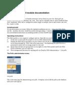 Polls v Module User Manual
