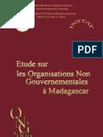 Etude sur les organisations non gouvernementales à Madagascar - 2006 (INSTAT - 2007)