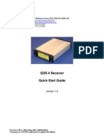 CCW SDR-4 Receiver Quick Start Guide v1.2