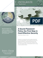 06115 Se Implement a Sound Password Policy